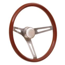 36-5457 GT3 Retro Wheel, Light Wood, Slot Spokes - GT Performance