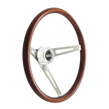 36-5459 GT3 Retro Wheel, Dark Wood, Slot - GT Performance