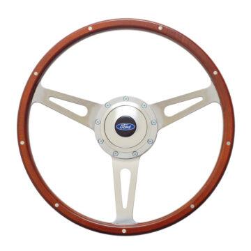 38-4247 GT9 Retro Wheel, Cobra Style, Wood - GT Performance